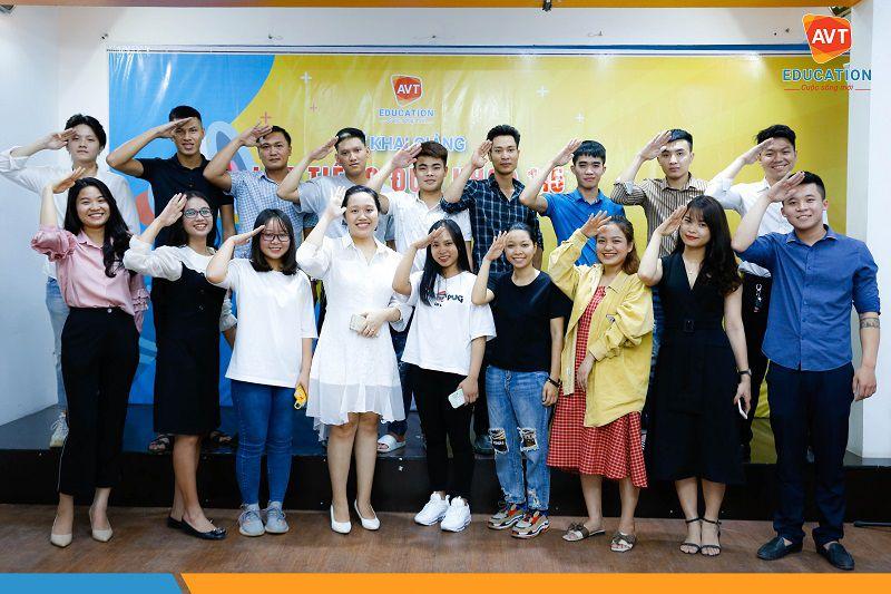 Lễ khai giảng khóa 115 tại AVT Education