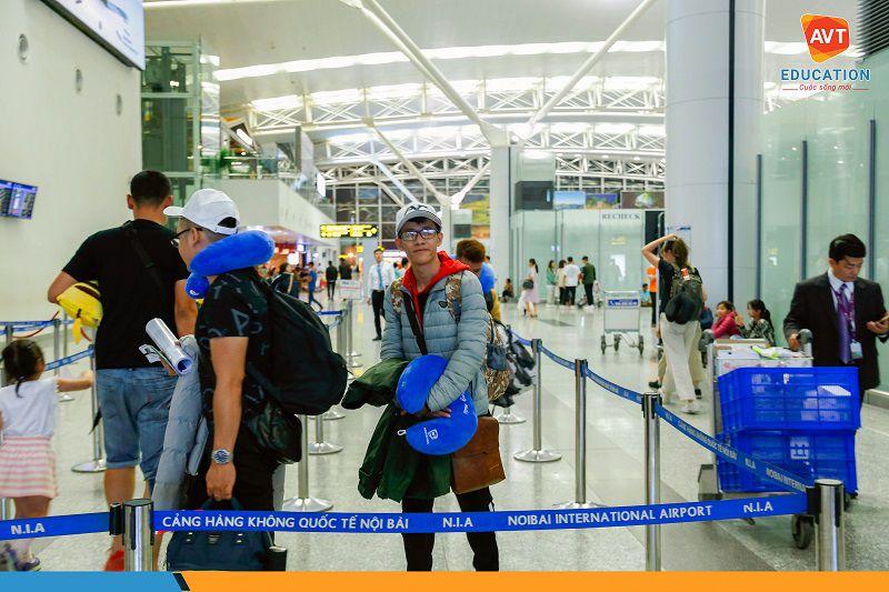 Nhanh chóng hoàn tất các thủ tục xuất cảnh tại sân bay