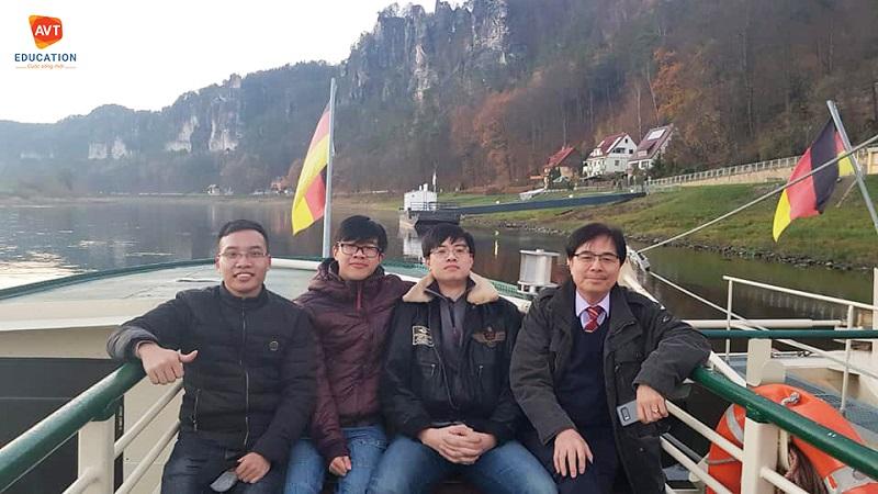 Ngày ra sân bay Hòa vẫn không thể tin mình có thể Du học nghề Đức thành công