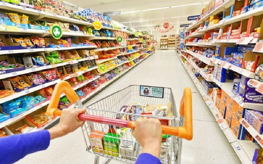 Hàng hóa tại các siêu thị của Đức được đánh giá cao về chất lượng