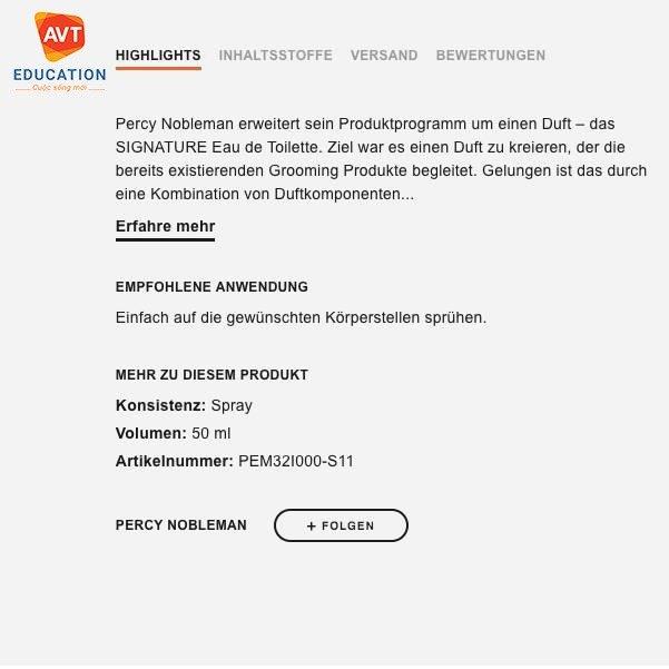 Ở Đức có rất nhiều sản phẩm hàng hóa cùng vô vàn mẫu mã khác nhau