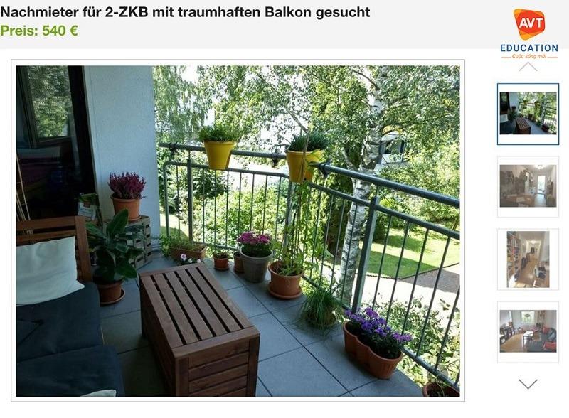Kinh nghiệm thuê nhà tại Đức