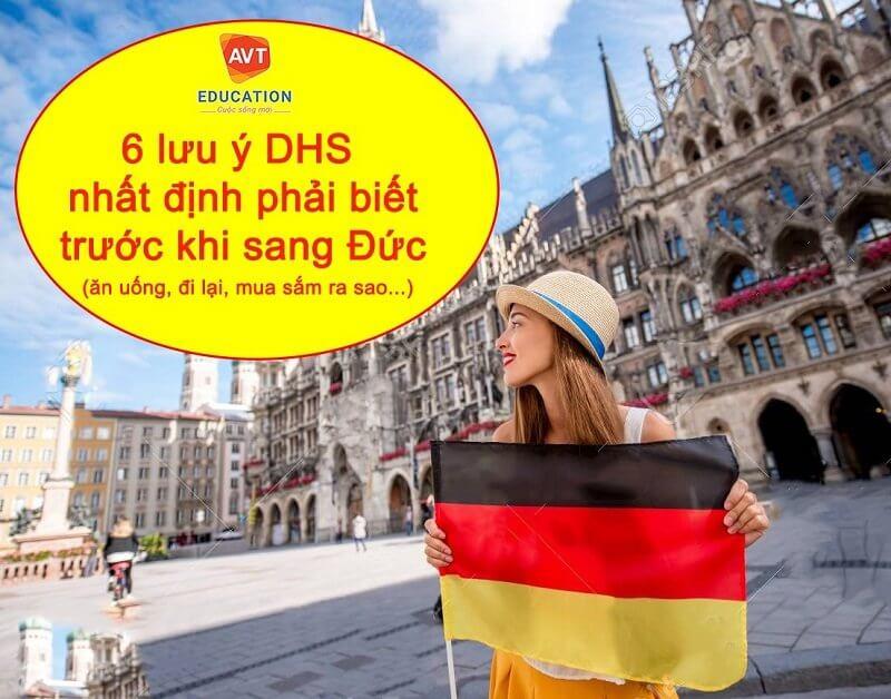 Những lưu ý khi đến Đức
