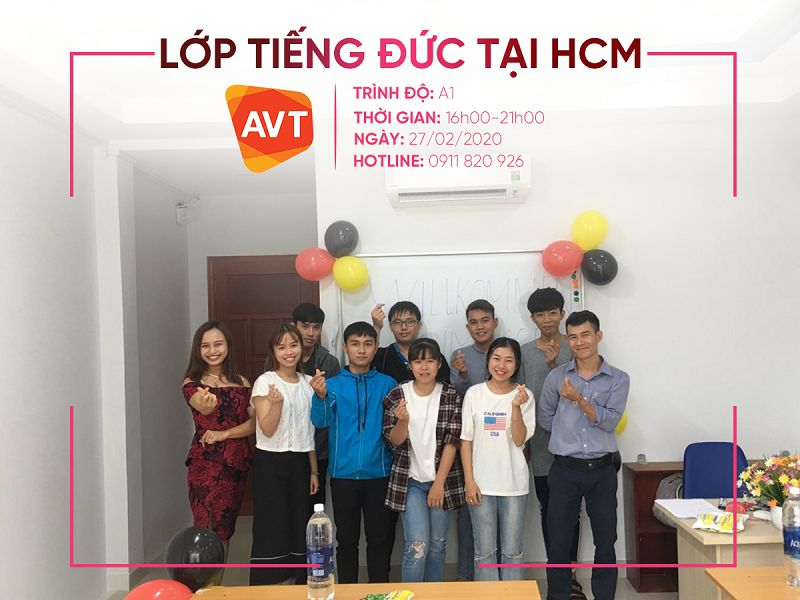 Lịch khai giảng tại AVT TP.HCM
