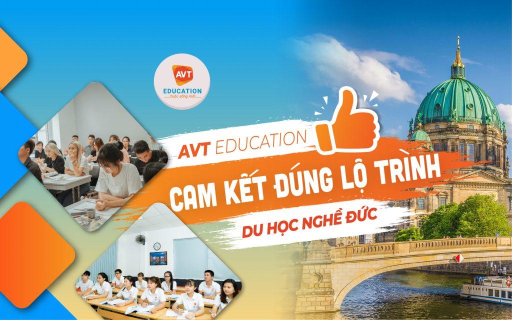 AVT Education cam kết đúng lộ trình du học nghề Đức